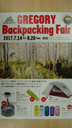 【仙台泉】GREGORY Backpac…